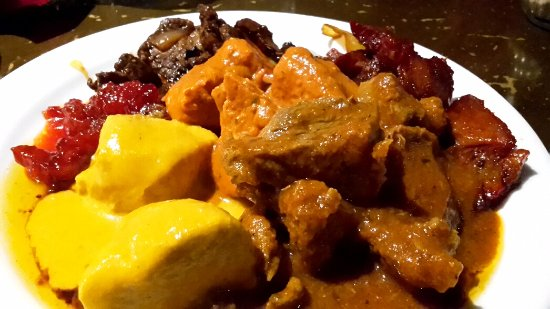 Cosmo Doncaster: Meaty curry