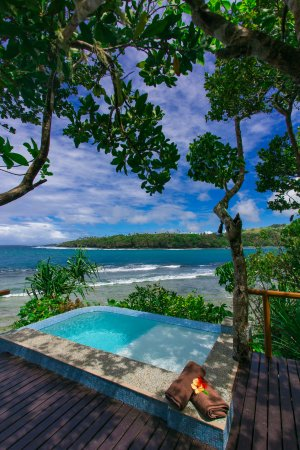 Namale Resort & Spa: All Honeymoon Bures feature private heated plunge pools with ocean views