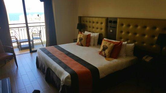 The Victoria Hotel: Zimmer mit Meerblick