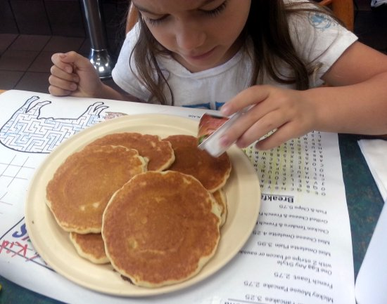 Arlington Heights, IL: the kids silver dollar pancakes