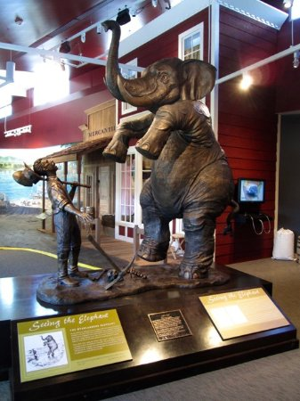 """Elko, NV: Pioneers referred to the 40-mile desert as """"the elephant."""""""