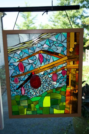 Chanhassen, MN: Stained glass