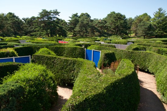 Chanhassen, MN: The maze- great fun for kids