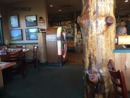 Los Banos, Kalifornien: Electronic Juke Box at Black Bear Diner