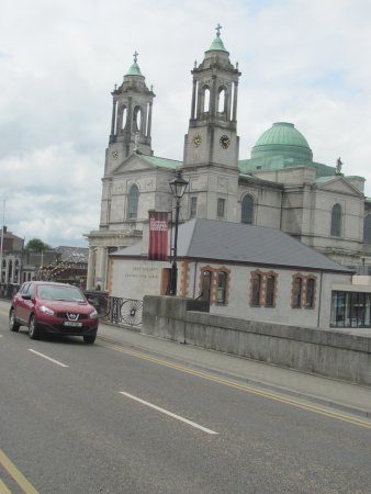 Radisson Blu Hotel, Athlone: the church across the river