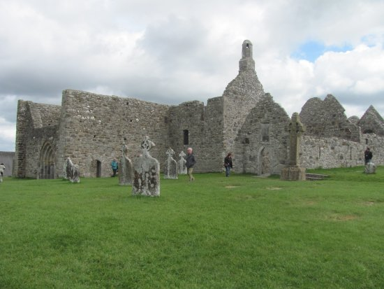 Radisson Blu Hotel, Athlone: the ruins of Clonmacnolse