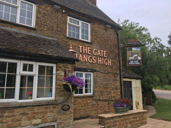 Hook Norton, UK: The pub
