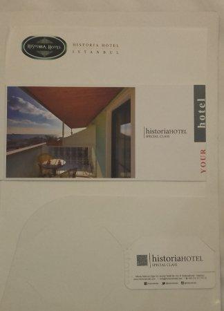Historia Hotel : folleto