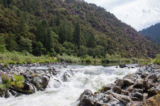 Merlin, OR:  rainie falls rogue river