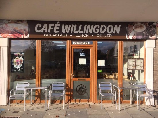 Willingdon, UK: Cafe