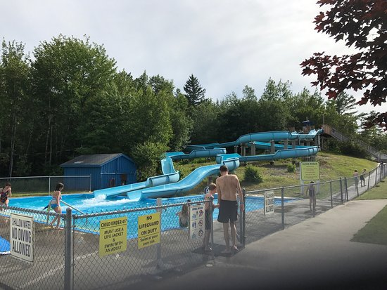 Trenton, ME: Water Slide Area