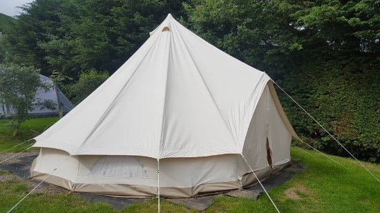 Watermillock, UK: Bell tent