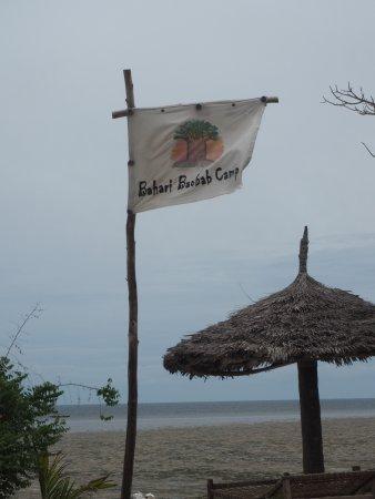 Pangani, Tanzania: Fanion du Bahari Baobab Camp