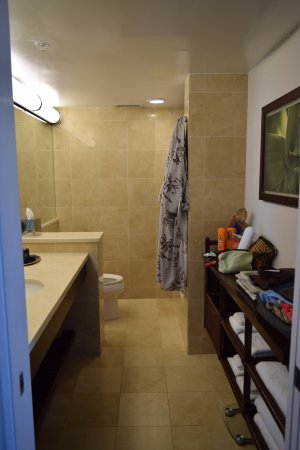 Lotus Honolulu At Diamond Head: The Bathroom Is Large With Ample Storage.