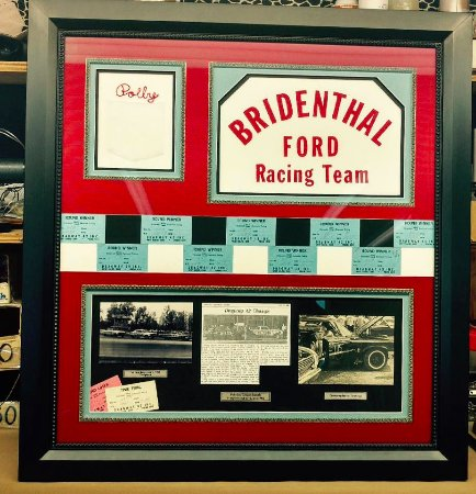 Berlin, OH: custom framing shadowboxes