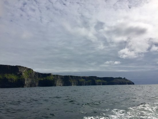 Doolin2Aran Ferries: The Cliffs of Moher from our ferry ride