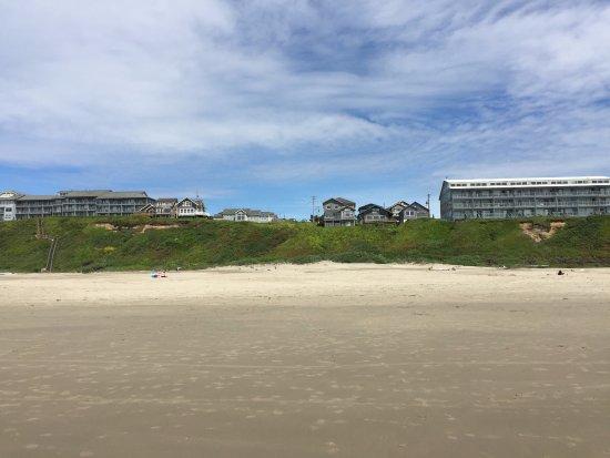 Houses Overlooking Nye Beach
