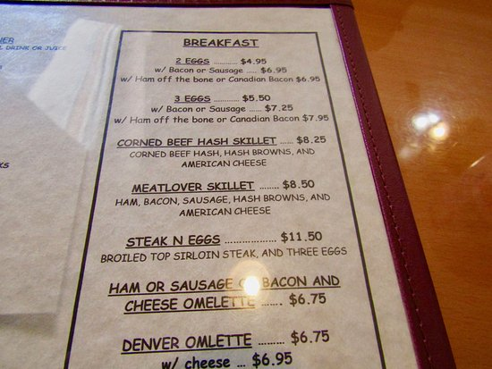 Rose Garden Family Restaurant: Prices