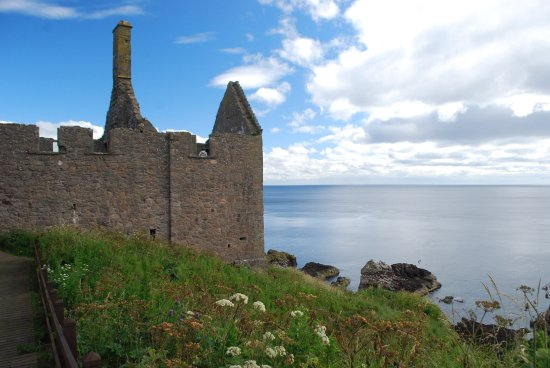 Stonehaven, UK: View from within, looking out into sea