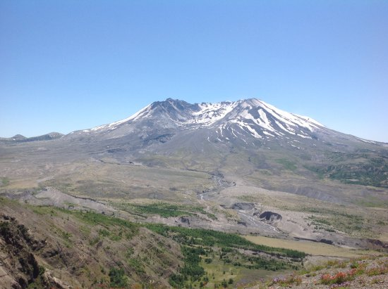 Castle Rock, WA: Mount St Helen's