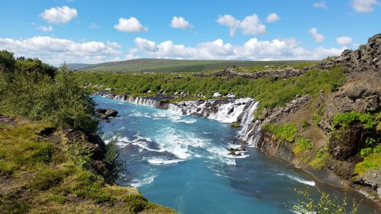 Husafell, Iceland: Hraunfossar