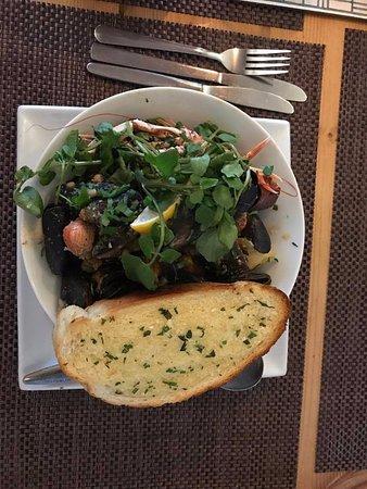Bunessan, UK: Seafood Cassoulet