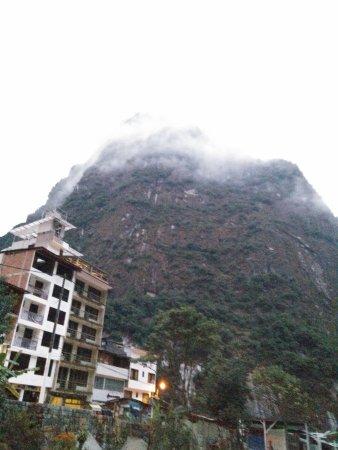 Taypikala Hotel Machupicchu : View from our balcony.