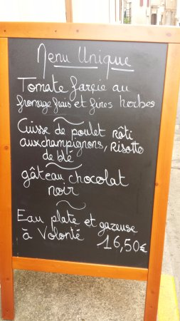 Menu De Lujo Por Picture Of Le Bruit En Cuisine Albi - Le bruit en cuisine albi