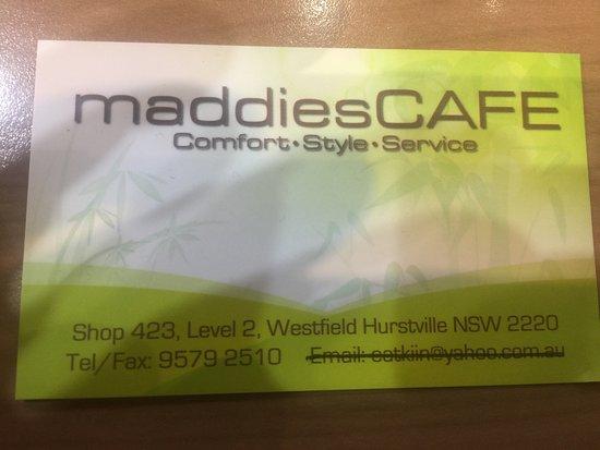Hurstville, Australia: business card