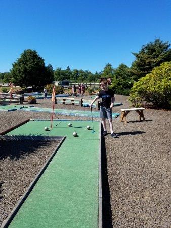 Seaside, OR: Golfing fun