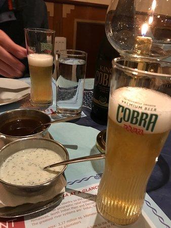 Cobra beer! - Picture of Taj Indian, Amsterdam - TripAdvisor
