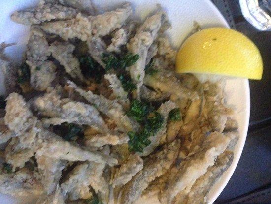 Crunchy Fish Appetiser in Le Thoureil
