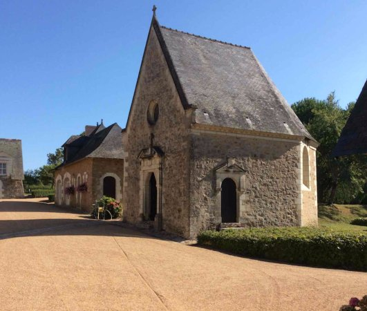 Le Thoureil, France : Nearby Chateau Hotle