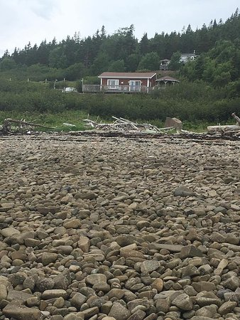 Digby, Canada: View from the beach
