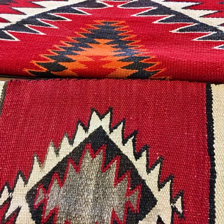 Albuquerque Old Town Antique Navajo Rugs In At Deja Vu Refinery