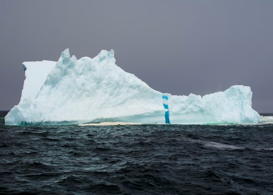 Mary's Harbour, Kanada: Massive icebergs surround our shorelines in spring and early summer