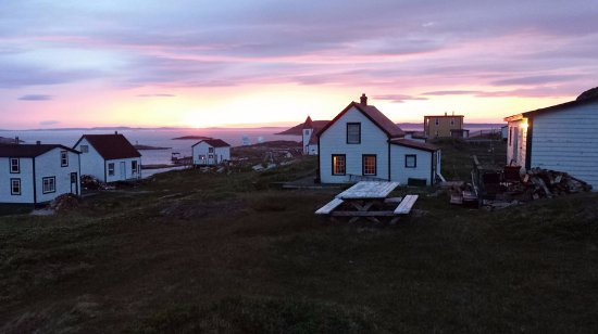Mary's Harbour, Canadá: Sunrise at Battle Harbour
