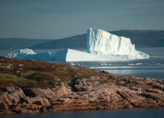 Mary's Harbour, Canadá: When we say icebergs we mean the biggest ones you can see!