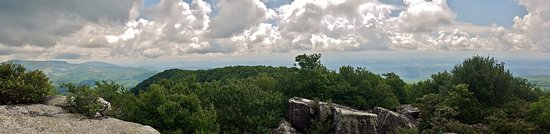 Lebanon, VA: Panorama from Hidden Channels
