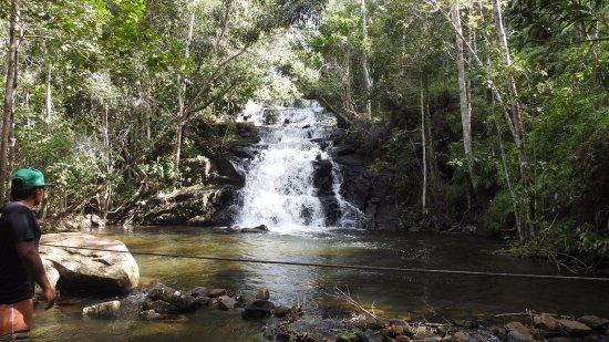 Cachoeira do Rio do Engenho ( Cachoeira do Cleandro ) : Segundo patamar da cachoeira.