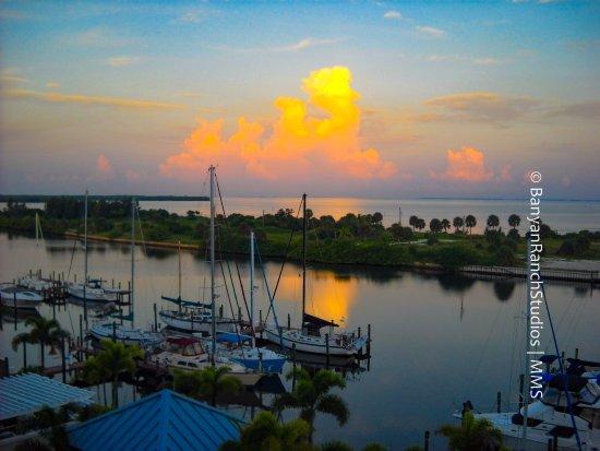 Ruskin, FL: Morning awakens - Harborside Suites at Little harbor