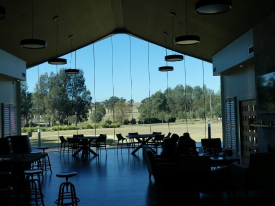 Rothbury, Australia: View from the tasting room at Hunter's Dream