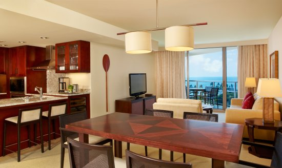 Spacious suites include full gourmet kitchens, separate living rooms & washer/dryer units.