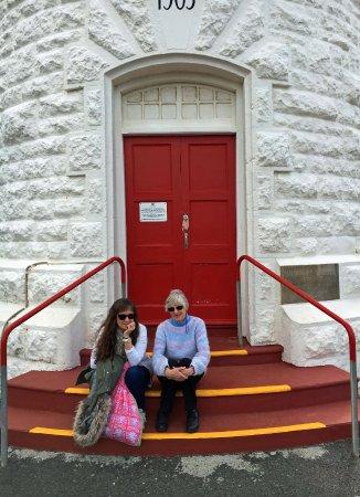 Cape Naturaliste Lighthouse The lighthouse door & The lighthouse door - Picture of Cape Naturaliste Lighthouse ...