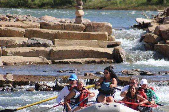 Mild to Wild Rafting and Jeep Trail Tours : Mild.