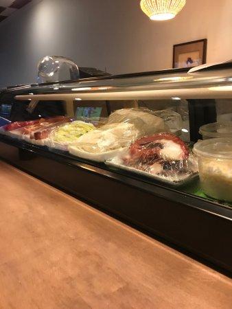 LaGrange, GA: Hand rolled sushi Yama sushi bar.