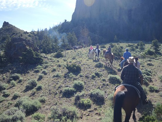 Rimrock Ranch: The breakfast ride and cookout