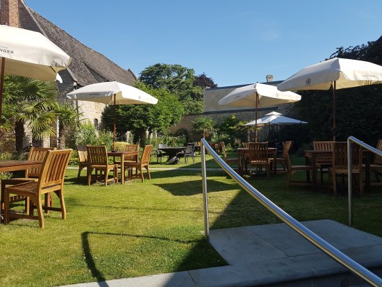 Oundle, UK: Dining Garden