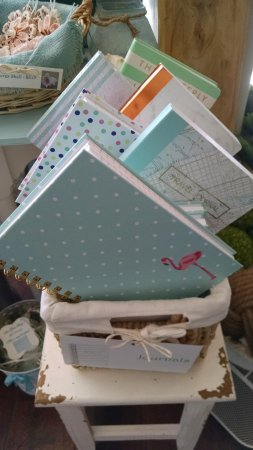 Solana Beach, CA: A great selection of lined journals - perfect gifts!
