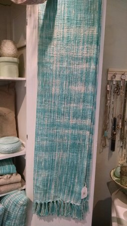 Solana Beach, CA: Soft and colorful throws for your nest!